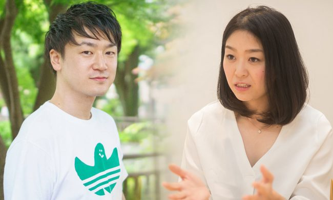 vivola株式会社角田夕香里さん✕株式会社ヘルスアンドライツ吉川雄司さん